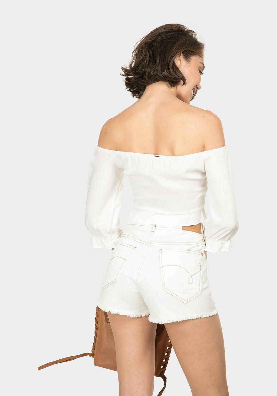 Blusa Cropped Ciganinha, BRANCO OFF WHITE, large.