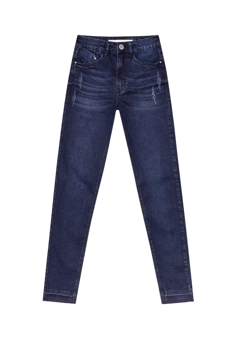 Calça Jeans Com Elastano Cropped Aruba, , large.