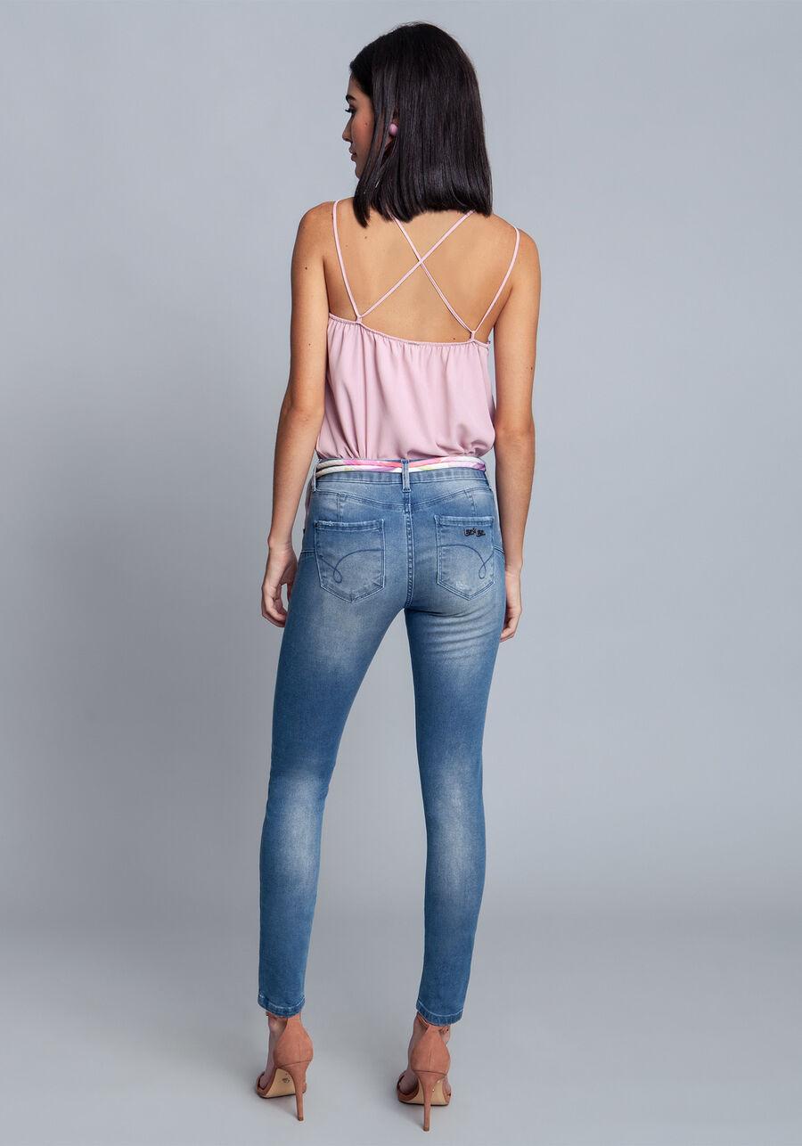 Calça Jeans Com Elastano Sirena, JEANS, large.