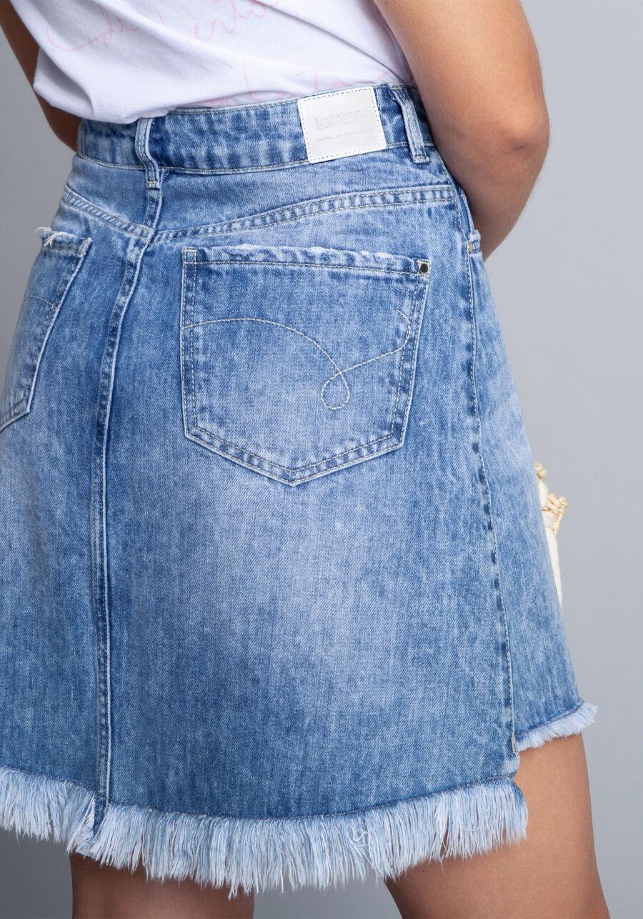 Saia Jeans, JEANS, large.