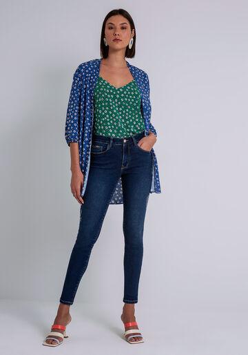 Calça Jeans Skinny Bali Esthetic Care, JEANS, large.