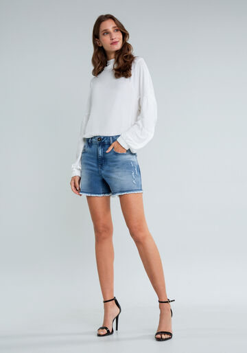 Shorts Jeans Sunset Curto, JEANS, large.