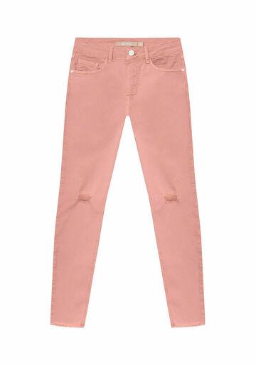 Calça Jeans Skinny Bali Duo Core, ROSA, large.