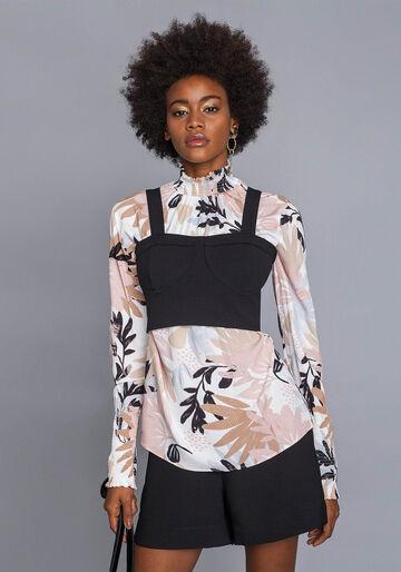 Blusa com Sobreposição Top, SWEET, large.