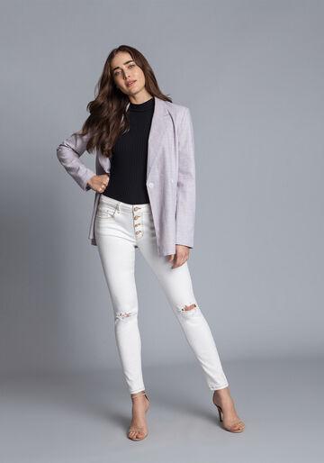 Calça Jeans Skinny Bali, BRANCO OFF WHITE, large.