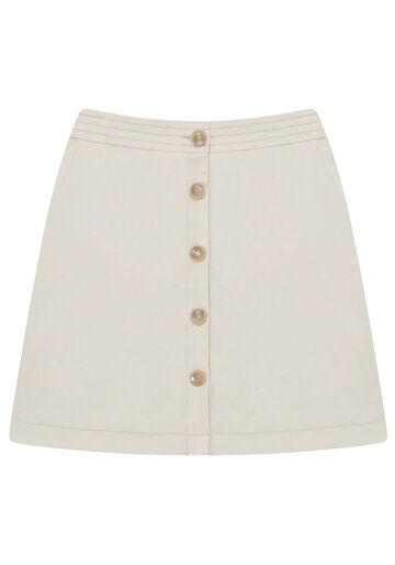 Saia  Tecidos Cots Unicolor, BRANCO OFF WHITE, large.