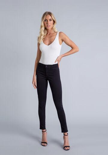 Calça Jeans Skinny Bali, PRETO, large.