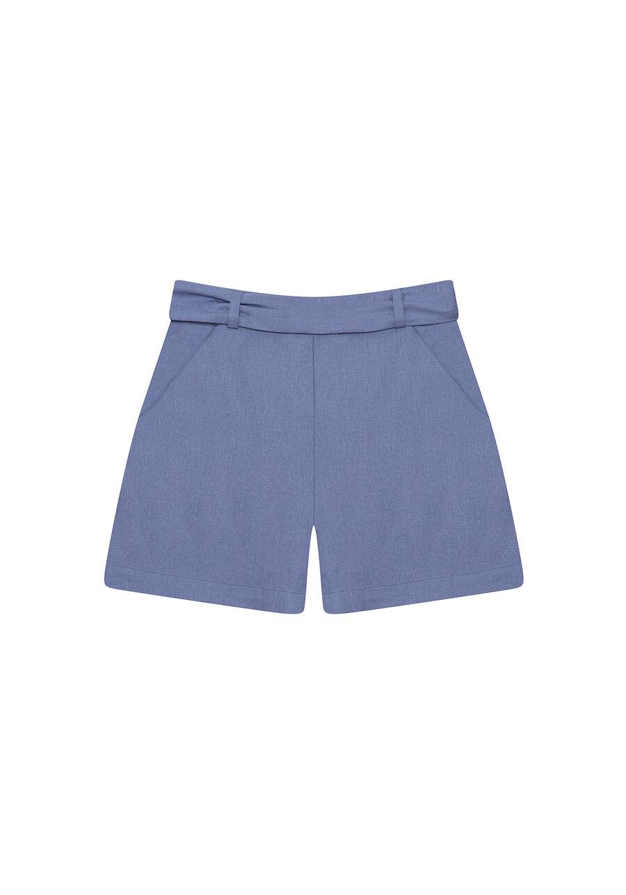 Shorts Tecido Linho Washed Plus, , large.