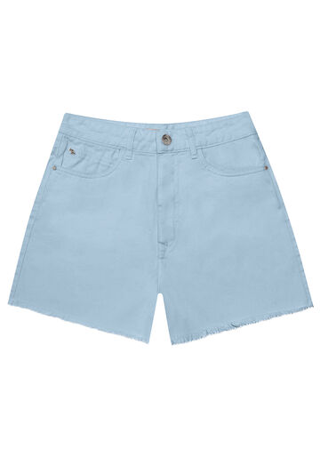 Shorts Sarja, AZUL, large.